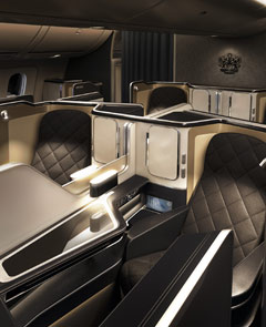 کابین British Airways First Class